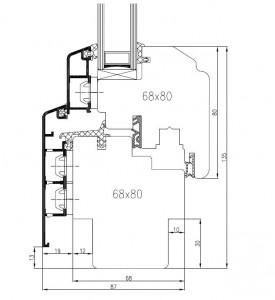 IV 68 Technische Zeichnung