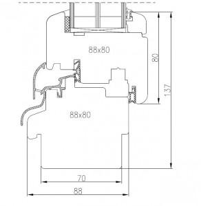 IV 88 Technische Zeichnung
